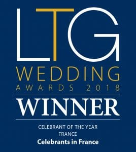 Celebrants in France - Award